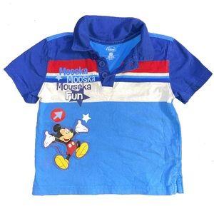 Disney Kids Blue Polo Top